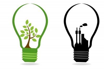Light Bulb Industry: Green & Industry Light bulb photo (give credit),Lighting
